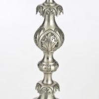 Świecznik-srebrny-sygn.-I.A.Goldman-Warszawa-1878 r