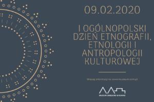 I Ogólnopolski Dzień Etnografii, Etnologii i Antropologii Kultury