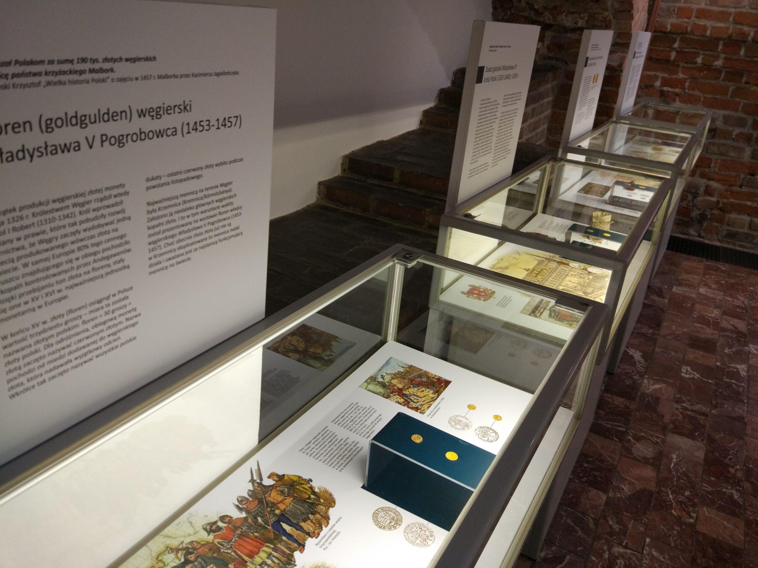 Kiedy płacono złotem  – wystawa monet złotych ze zbiorów Muzeum Okręgowego w Koninie.