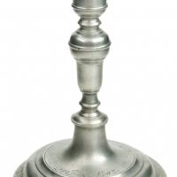 Świecznik-cynowy-1803 r